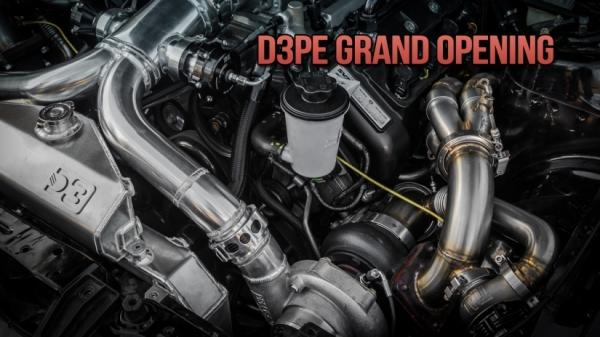 D3 Performance Engineering Grand Opening