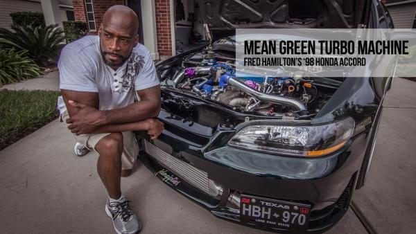 Mean Green Turbo Machine: Fred Hamilton's 1998 Honda Accord