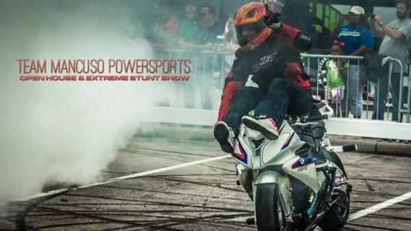 Team Mancuso Powersports Wows Crowd with Top Names in Motorcycle Stunts