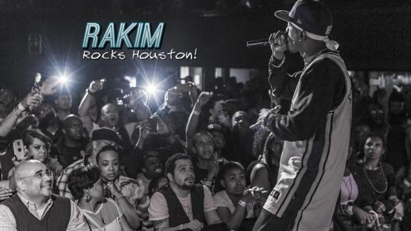 Rakim Moves the Crowd At Fitzgeralds