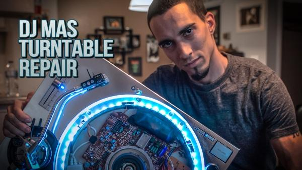 Don't Sweat The Technics — DJ Mas Turntable Repair