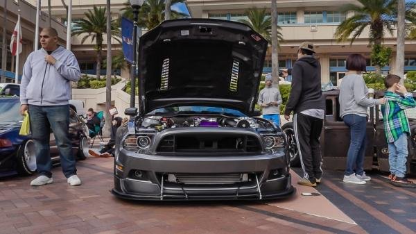 Tampa's Finest Clash Of Kings Custom Car Show
