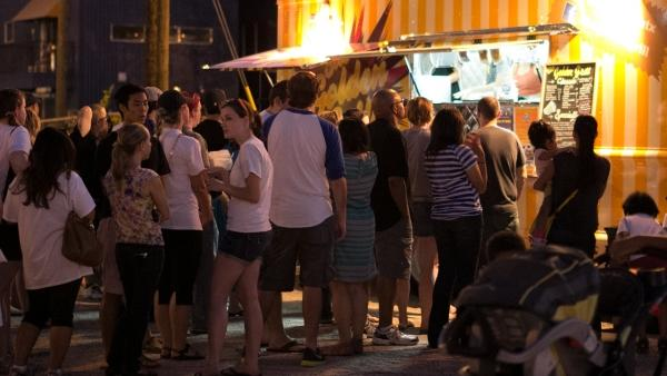 Food Trucks Fight for the Right to Serve Downtown